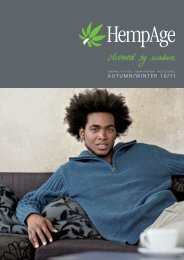 AUTUMN/WINTER 10/11 - HempAge AG