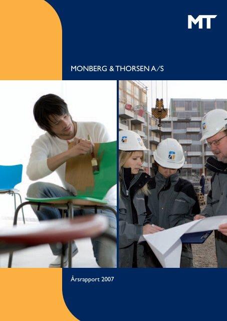 Årsrapport 2007 - Monberg & Thorsen