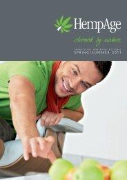SPRING / SUMMER 2011 - HempAge  AG