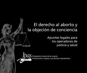 El derecho al aborto y la objeción de conciencia