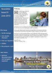 Newsletter Issue 01 June 2013 - absanz