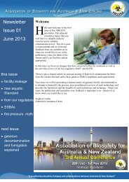 Newsletter Issue 01 June 2013 - absanz
