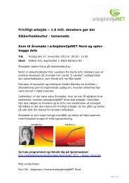 Frivilligt arbejde – 1.6 mill. danskere gør det ... - Arbejdsmiljønet