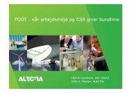 303: FOOT - når arbejdsmiljø og CSR giver bundlinie
