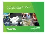 304: Forretningsdrevet sundhedsfremme - en integreret indsats