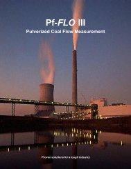 Pf-FLO III - 10-7-04 - Air Monitor Corporation
