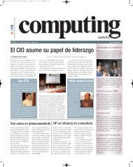 El CIO asume su papel de liderazgo - Autelsi