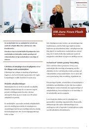 HR-jura UPDATE Nr. 14. september 2012 - Bruun Hjejle