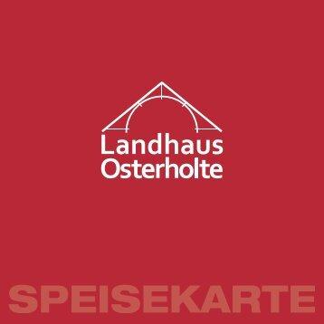 speisekarte - Landhaus Osterholte