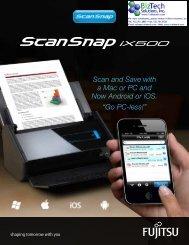 ScanSnap iX500 - BizTech Solutions, Inc.