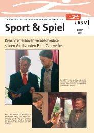 Kreis Bremerhaven verabschiedete seinen ... - LBSV Bremen