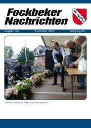 Fockbeker Nachrichten - Amt Fockbek
