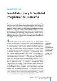 """Israel-Palestina y la """"realidad imaginaria"""" del sionismo - Fuhem"""