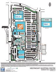 WESTMOUNT SHOPPING CENTRE - First Capital Realty