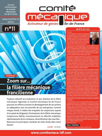 Journal d'information n° 11 - Septembre 2012 - Comité mécanique ...