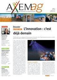 L'innovation : c'est déjà demain - Axema