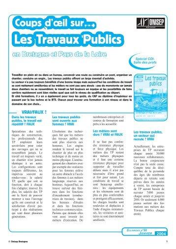 Les Travaux Publics - Informetiers