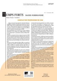 T EMPS FORTS BASSE-NORMANDIE - Informetiers
