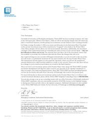 Announcement Letter to University Faculty and Staff - University of ...