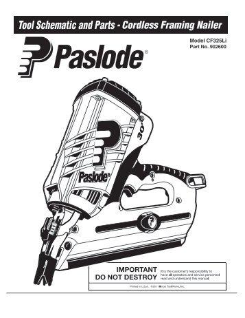 Legend Im65 F16 Lithium Paslode