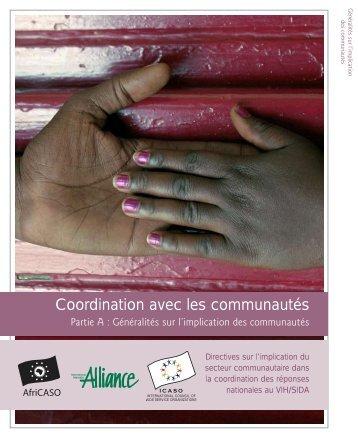 Coordination avec les communautés - icaso