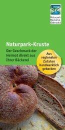 Naturpark-Kruste - Naturpark Neckartal-Odenwald