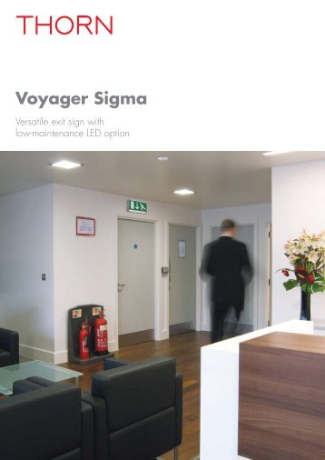 Voyager Sigma - Thorn Lighting