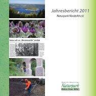 Jahresbericht 2011 - Naturpark Hohes Venn - Eifel