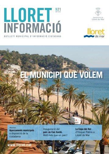 Núm. 71 - Ajuntament de Lloret de Mar