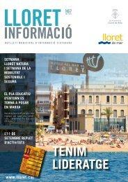 TENIM LIDERATGE - Ajuntament de Lloret de Mar