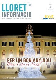 Núm. 70 - Ajuntament de Lloret de Mar