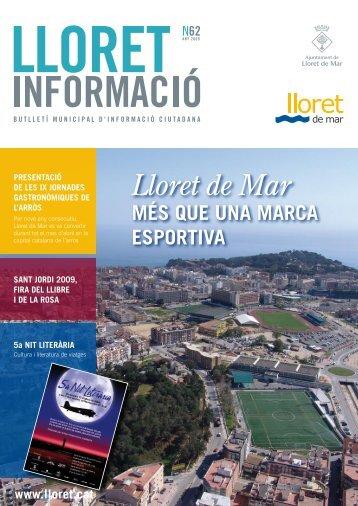 Núm. 62 - Ajuntament de Lloret de Mar