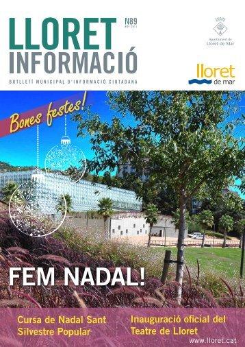 Núm. 89 - Ajuntament de Lloret de Mar