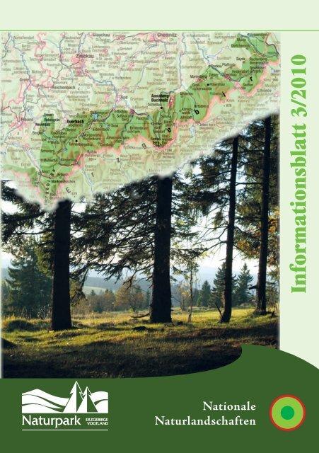 Informationsblatt 3/2010 - Naturpark Erzgebirge-Vogtland