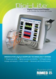 Digital Transcranial Doppler with Double the Gates per Probe - Medel
