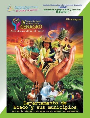 Departamento de Boaco y sus municipios - magfor