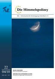 Die Himmelspolizey - Astronomische Vereinigung Lilienthal e.V.