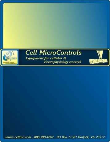 Temperature Control Systems - Cell MicroControls