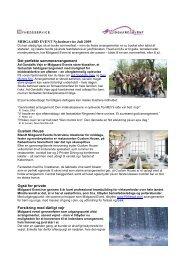 MIDGAARD EVENT Nyhedsservice Juli 2009 Det perfekte ...