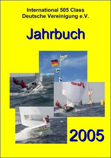 Jahrbuch - Deutsche 505er Klassenvereinigung