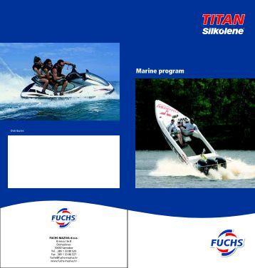 Marine - program za održavanje i zaštitu plovila - FUCHS Maziva