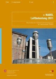 NABEL – Luftbelastung 2011 (pdf) - naturschutz.ch, Natur