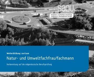 Natur- und Umweltfachfrau/fachmann - Naturschutz.ch