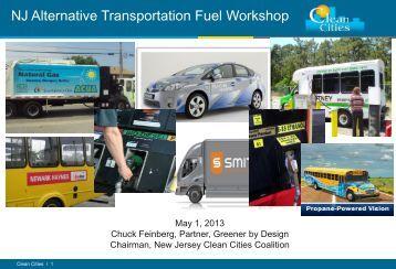 NJ Clean Cities Coalition - Rutgers EcoComplex