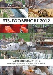 STS-Zoobericht 2012 - Naturschutz.ch
