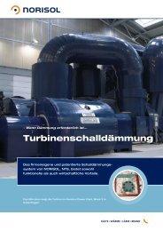 Turbinenschalldämmung - Norisol