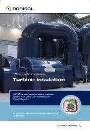 Turbine insulation - Norisol
