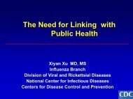 PDF of slides - One World One Health
