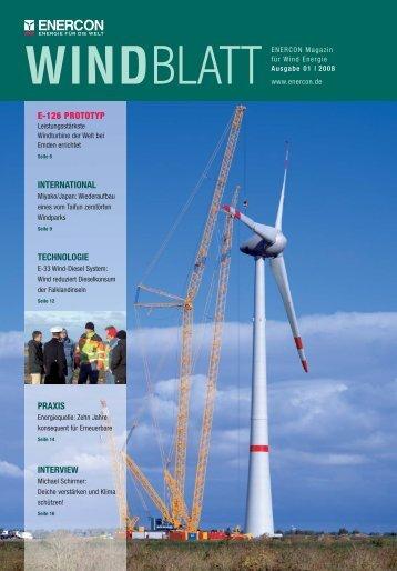 windblatt - Enercon
