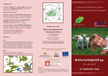 Naturerlebnistag - Naturpark Stromberg-Heuchelberg